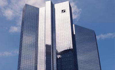 Здание Deutsche Bank во Франкфурте на Майне