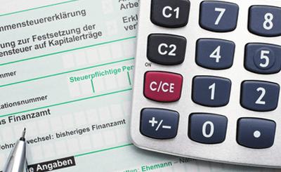 Налоговая декларация. © Doc RaBe - fotolia