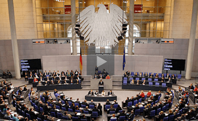 Заседание бундестага. Фото с сайта wikipedia.org