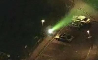 В Германии участились лазерные атаки на самолеты. Телекадр N24