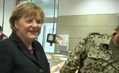 Ангела Меркель. Телекадр N24
