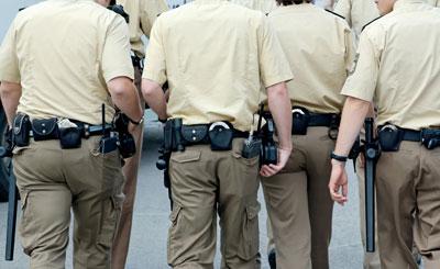 Немецкие полицейские © Thomas B - fotolia
