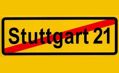 Знак «Остановить Штутгарт-21»