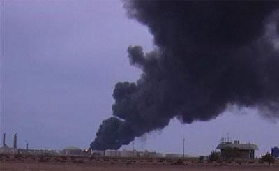Ливия. Кадр телеканала euronews