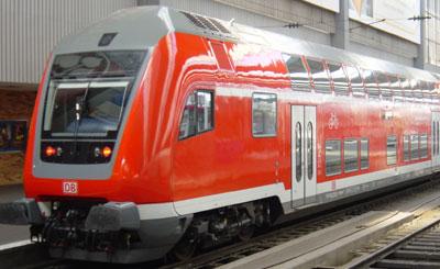 Поезд RE концерна Deutsche Bahn