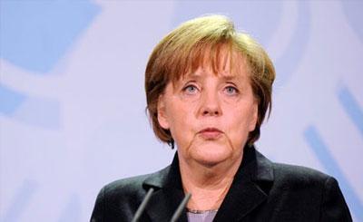 Ангела Меркель. Кадр телеканала N24