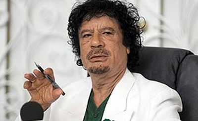 Муаммар Каддафи. Фото с сайта peoples.ru
