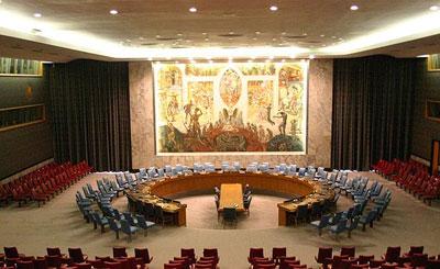 Зал заседаний Совета Безопасности ООН. Фото с сайта wikipedia.org