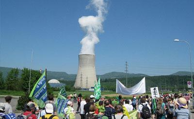 Демонстрация пережд АЭС «Гёсген», Швейцария. Фото с сайта wikipedia.org Автор Ch-info.ch