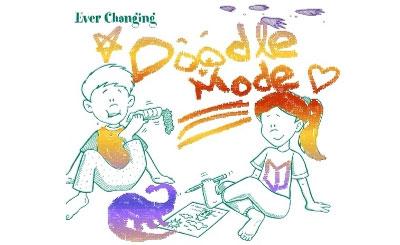 Doodle Mode. Изображение из блога Google