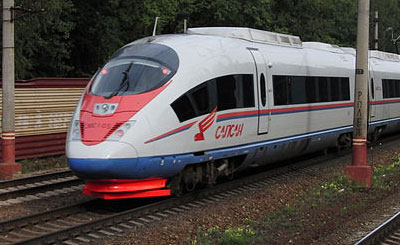 «Сапсан». Фото Mikhail (Vokabre) Shcherbakov с сайта wikipedia.org
