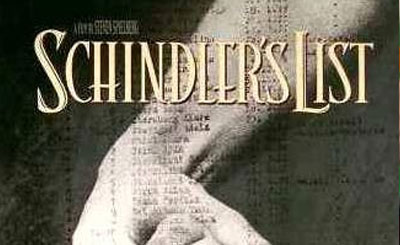 Фрагмент обложки фильма Стивена Спилберга «Список Шиндлера»