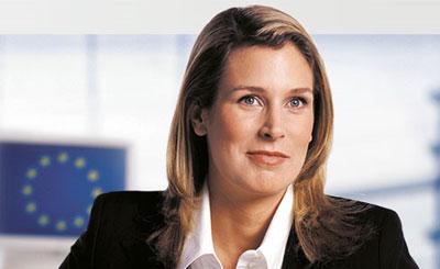 Сильвана Кох-Мерин. Скриншот с сайта политика Koch-Mehrin.de