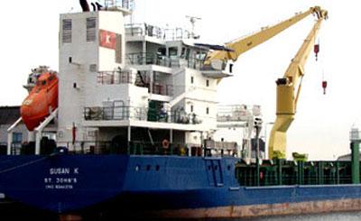 Судно «Susan K». Фото с сайта vesseltracker.com