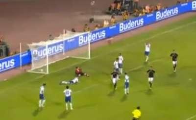 Германия победила Азербайджан 3:1. Телекадр ARD