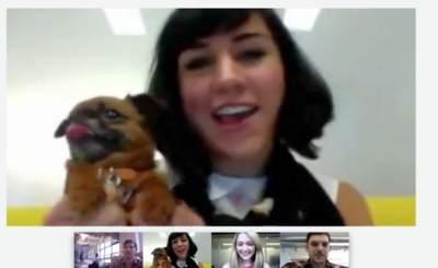 Социальная сеть с видеочатом. Скриншот Google+