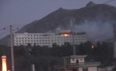 В Кабуле при нападении на отель погибли как минимум 18 человек. Телекадр N24