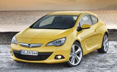 Opel Astra GTC. Фото: © autonews.ru
