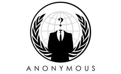 Логотип хакерской группировки Anonymous