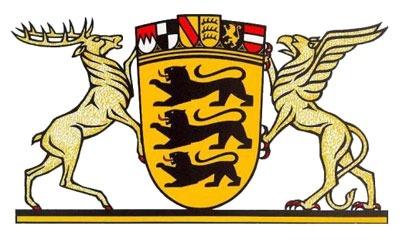 Герб федеральной земли Баден-Вюртемберг