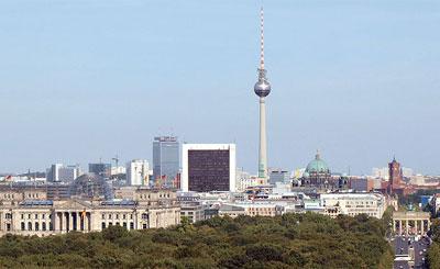 Панорама Берлина. Фото с сайта wikipedia.org Автор Casp