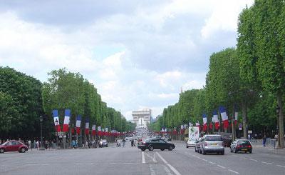 Елисейские поля. Фото с сайта wikipedia.org Автор David.Monniaux