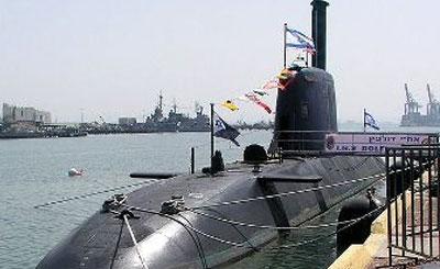 Подводная лодка типа Dolphin ВМС Израиля. Фото с сайта wikipedia.org Автор shlomiliss