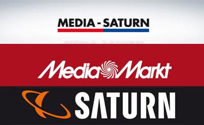 Логотипы сети магазинов Media-Saturn