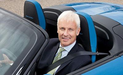 Глава Posrche Маттиас Мюллер. Фото Porsche