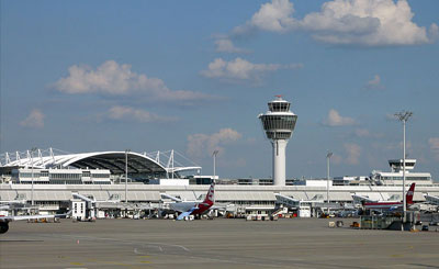 Аэропорт Мюнхена. Фото с сайта wikipedia.org Автор Kozuch