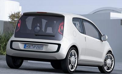 Концепт VW-Up. Скриншот сайта vwvortex.com