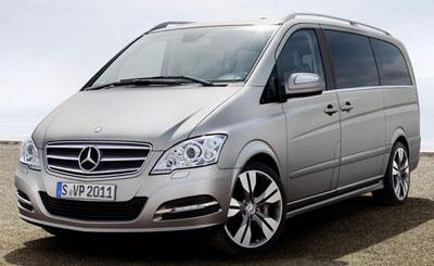 Mercedes-Benz Viano Vision Pearl. Фото Mercedes-Benz