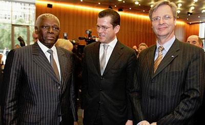 Мартин Ванслебен (справа). Фото с официального сайта Торгопо-промышленной палаты ФРГ dihk.de