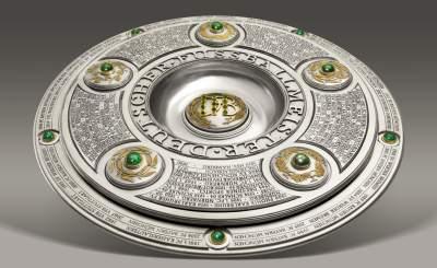 Meisterschale. Фото для прессы с официального сайта bundesliga.de