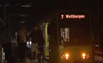 Blackout в Ганновере. Телекадр ZDF