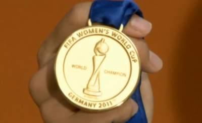 Японки завоевали золото ЧМ-2011. Телекадр N24