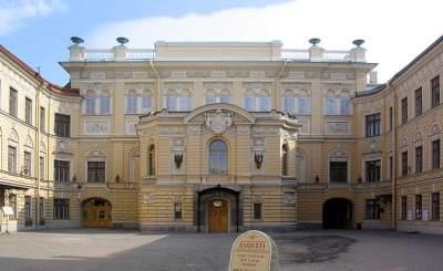 Здание Государственной академической капеллы Санкт-Петербурга. © ptrue. Фото с сайта wikipedia.org