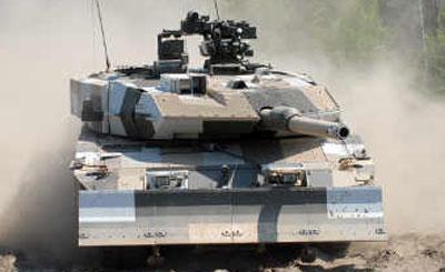 Танк Leopard 2A7+. Фото с сайта kmweg.de