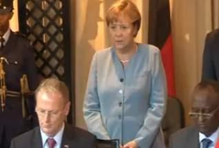 Ангела Меркель. Телекадр capitalfmkenya