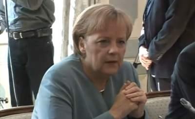 Ангела Меркель. Телекадр NWW World