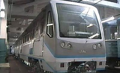 Поезд «Русич». Фото с сайта metro.molot.ru