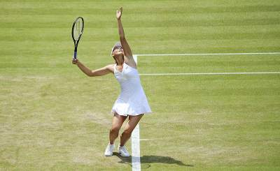 Мария Шарапова вышла в финал Уимблдона © Justin Smith. Фото с сайта wikipedia.org