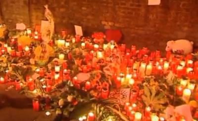 В Дуйсбурге почтили память жертв трагедии годичной давности. Телекадр nrwaktuell.tv