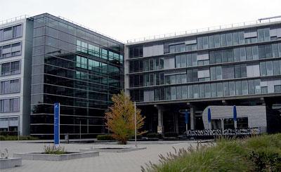 Здание DFS в Лангене. Фото с сайта wikipedia.org Автор Robert Gottwald