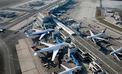 Аэропорт франкфурта установил рекорд