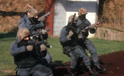 Группа бойцов немецкого спецназа GSG 9. Фото с сайта sondereinheiten.de