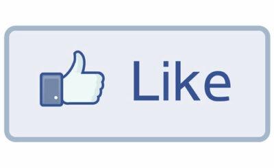 Кнопка Like социальной сети Facebook