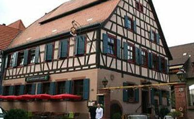 Ресторан Zum Güldenen Stern. Фото с сайта stern-ladenburg.de