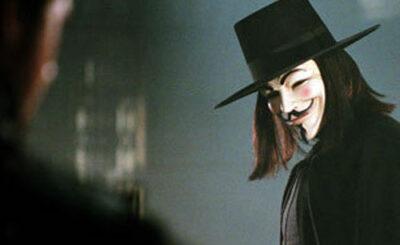 Кадр из фильма «V - значит вендетта»