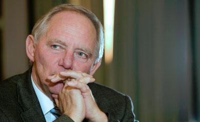 Вольфганг Шойбле. Фото с сайта политика wolfgang-schaeuble.de